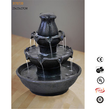 Factory Price Waterfall Fountains Small Indoor Tabletop Fountain