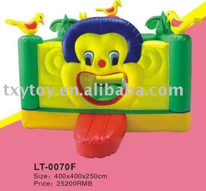 CUTE, inflatable bounce products ,outdoor jumping castle LT-0070F