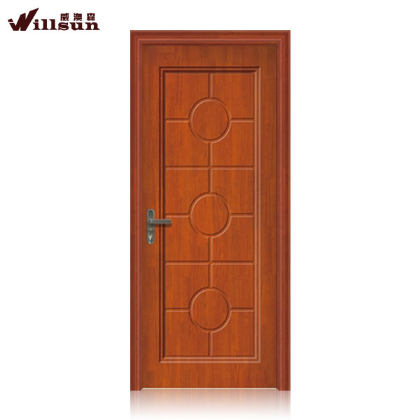 Birch wood mother and son solid wooden doors
