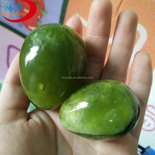 only polished green jade kegel eggs nephrite jade eggs plevic muscle exercise ball