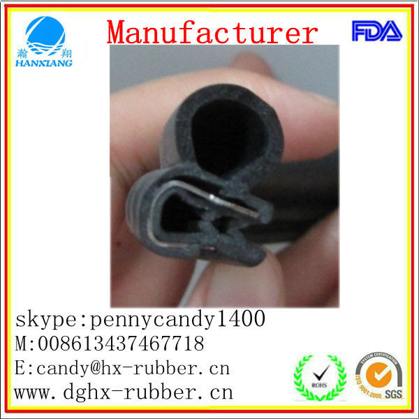 China ,custom made,factory, auto windshield gasket,for window ,door,car,truck,in dongguan