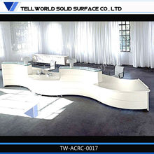 2013 hot sale beauty salon reception desk display counter