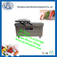 Pumping vacuum cooked food packing machine/Fruit vacuum packaging machine/DZQ-600-2S Double chamber vacuum packaging machine