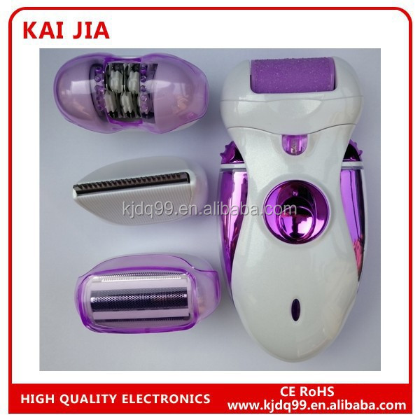 portable epilator 4 replace heads electric hair remover for women