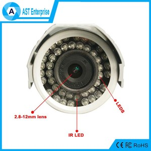 42Pcs IR Leds Waterproof Bullet 1080P HD SDI Camera Outdoor