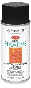 Grumbacher Final Fixative - 11.75 oz, Final Fixative, Matte