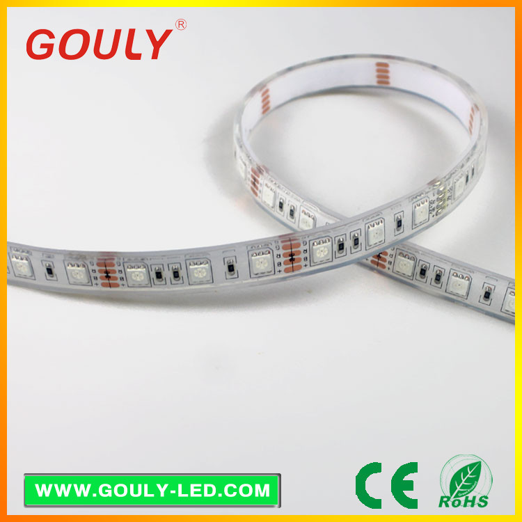 china manufacturer 5050 rgb led strip remote control 5m/reel High efficiency led strip rgb