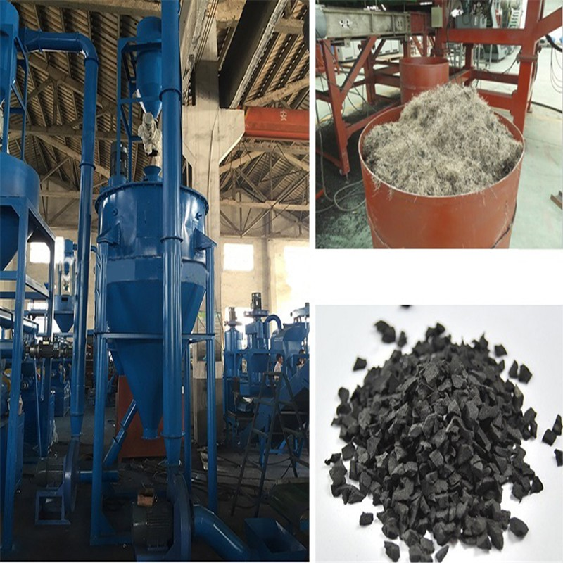 Nylon Fiber Separator / Waste Rubber Recycling Machine