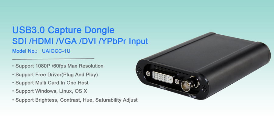 URay Best price HD 1080P HD 3G SDI HDMI VGA YPbPr DVI Capture Grabber Live Streaming Video Capture Card