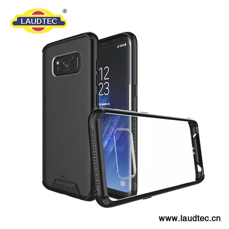 Laudtec-New types Arylic case crystal through case for Samsung galaxy s8/s8 plus