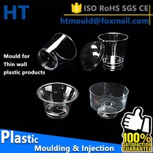 Thin wall injection mold, custom injection mold, cake cup mold making in Guangzhou