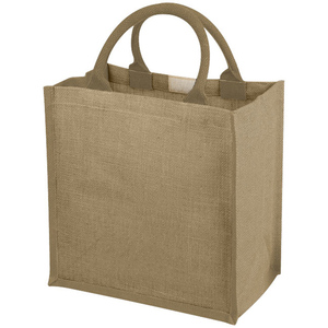 Customized Eco- friendly Jute Bag Reusable Shopping Bag Jute Gift Tote