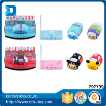 2017 New cartoon toy lovely mini truck plastic best rc car for kids