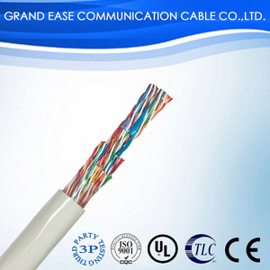 cable manufacturing 2 pair utp cat5e communication cable
