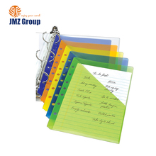 "2 "" 3 plastic ring binders pp 3 hole ring binder parts office stationery, custom size a3/a4/a7/b5/b6/4d 3 ring binder"