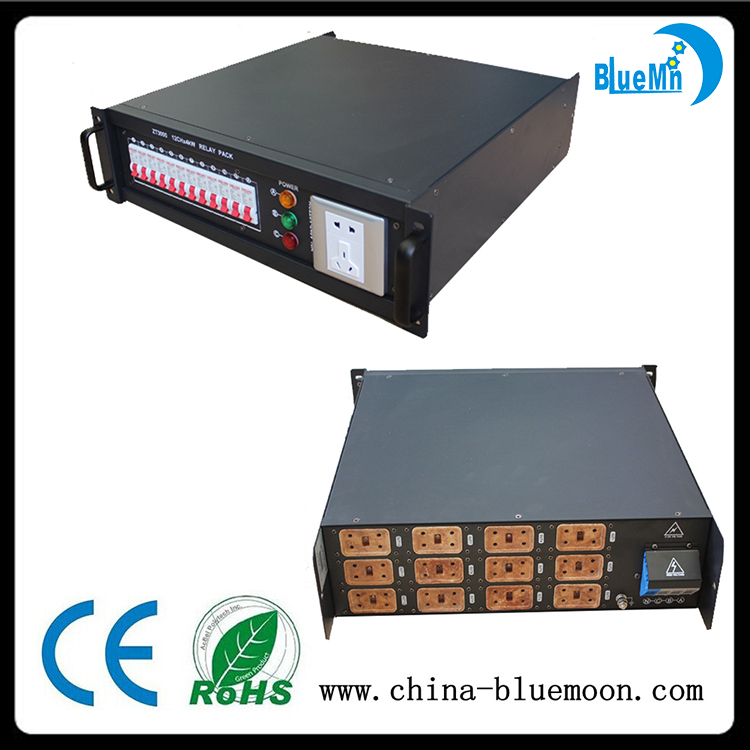 Control products 12CH 4kW silicon case DMX digital dimmer pack