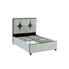 Modern hydraulic lift up queen under bed storage