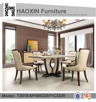 Fast Delivery Solid Wood Table Chairs Dining Room Furniture T3019 MAD257