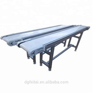 Aluminum Type stainless steel White Food Grade PU Conveyor Belt for Light Industry