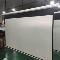 electric home cinema motorized theater projection screen
