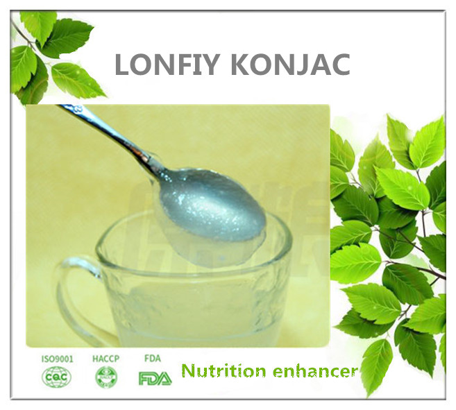 high quality pure Konjac gum for candy and jelly