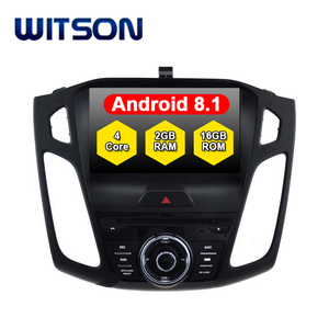 WITSON Android 8.1 DVD Car Player For FORD FOCUS 2015 2016 2017 Car Gps Navigation