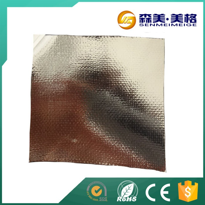 Senmei thin heat insulation fireproof aluminum foil for Fireproof vapor barrier