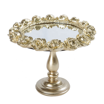 gold white mirror acrylic cake stand for weddings unique 16 inch luxury plastic dessert table cup cake stands set holder fancy