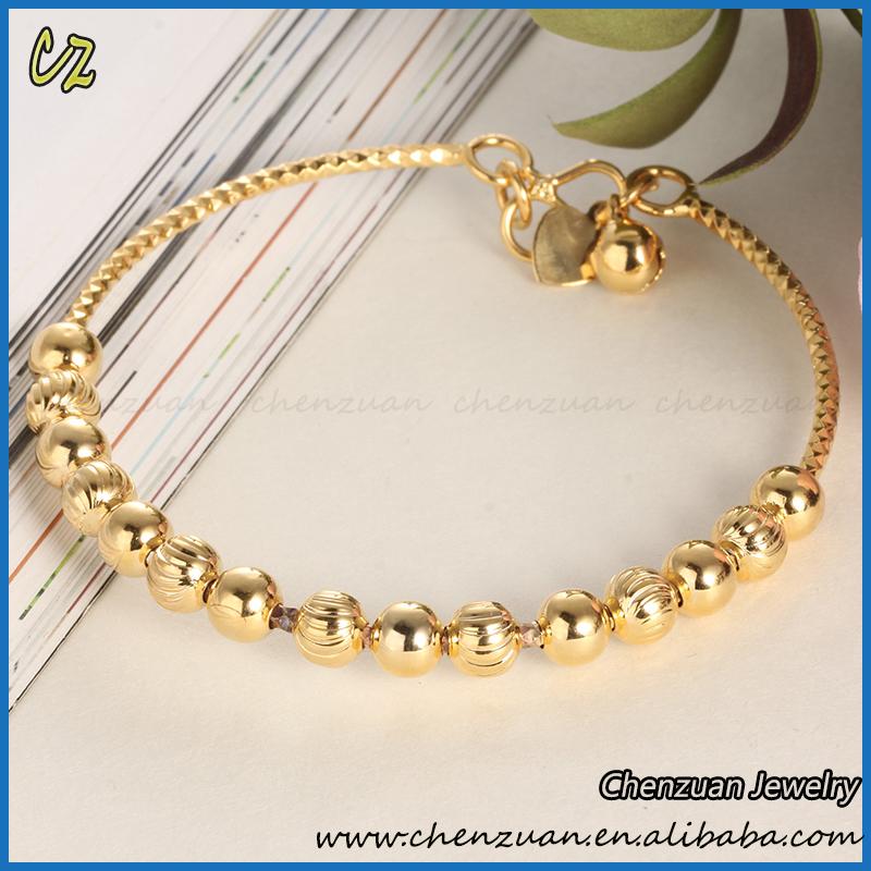 Cheap Wholesale Brazilian Gold Jewelry 18k Gold Filled Bracelets