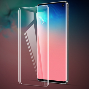 For Samsung S10/S10plus/S10E UV protector with retail pack full glue tempered glass film for S8/S8+/S9/S9+/note8/note9/S10 5g