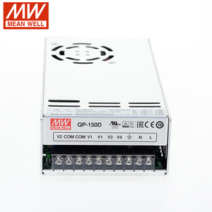QP-150D Meanwell Switching Power Supply 110V/220V AC to 5V | 12V | 24V | -12V DC 10A | 4A | 2A | 0.6A 154W PFC quad