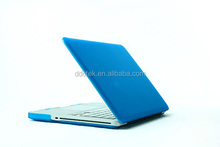 Plastic hard rubberized matte case for macbook pro 13.3