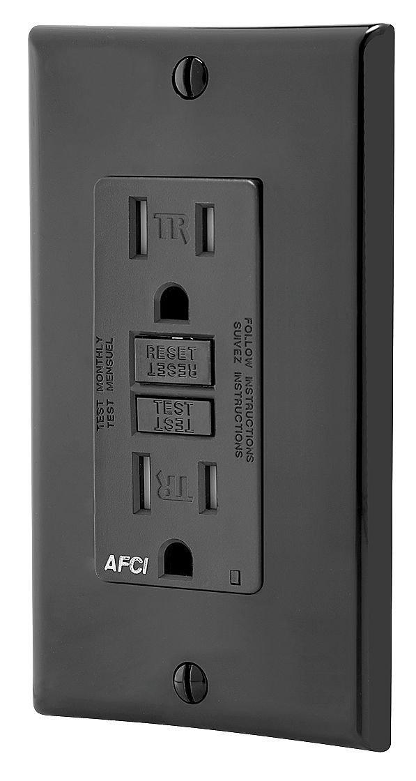 Buy Leviton AFTR1-E SmartlockPro Outlet Branch Circuit Arc-Fault ...