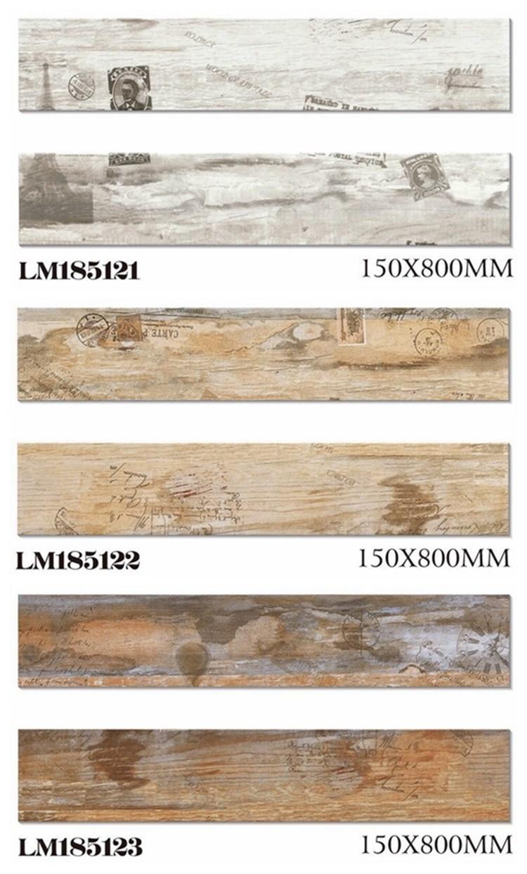 Außen Holz Aussehen Wand Fliesen Designs Indien,Glasierte Keramische ...