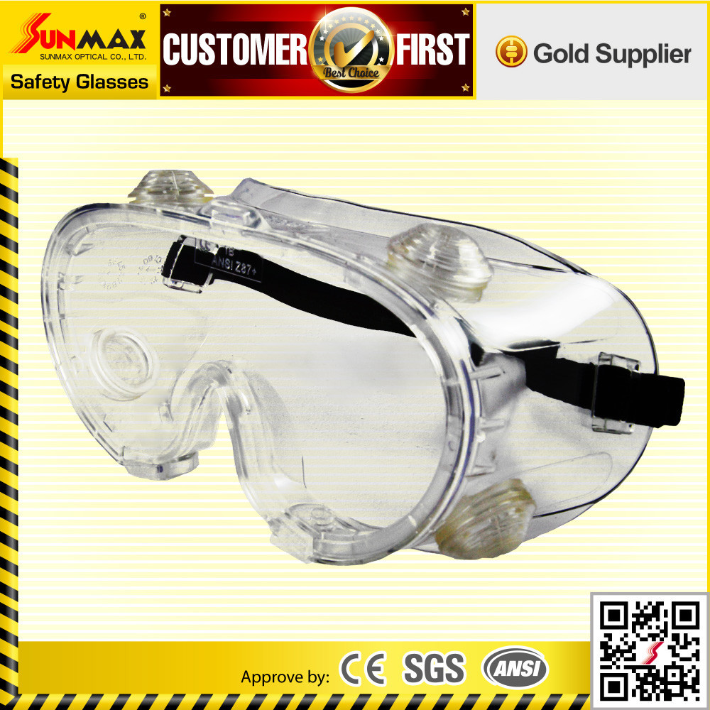 CE ANSI safety eyes perforated goggles for shooting