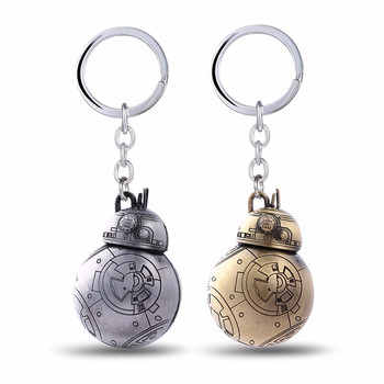 Key Chain Force Awakens Droid Robot Key Rings Gift Chaveiro Keychain