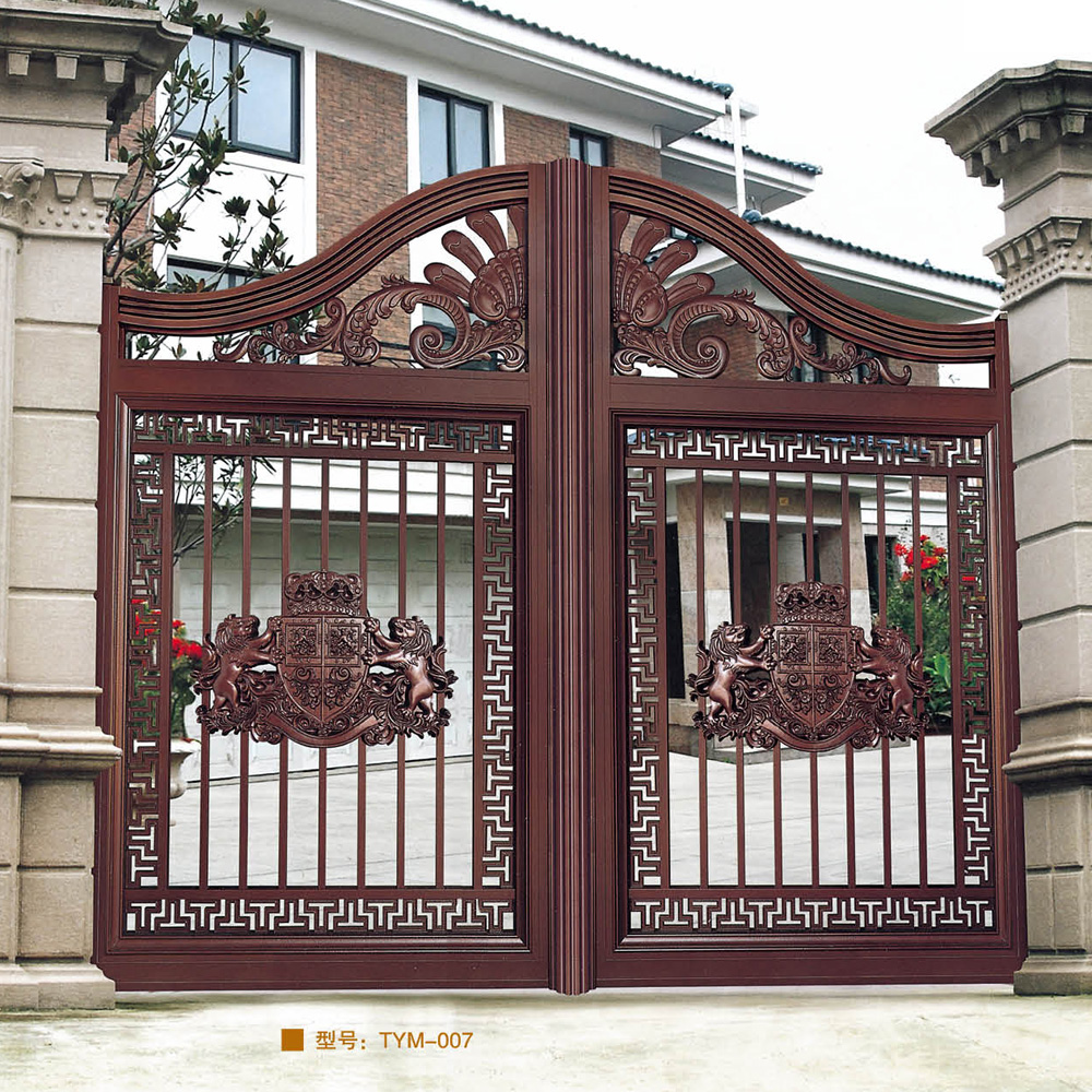 Aluminum residential driveway main gates aluminum residential driveway main gates suppliers and manufacturers at alibaba com