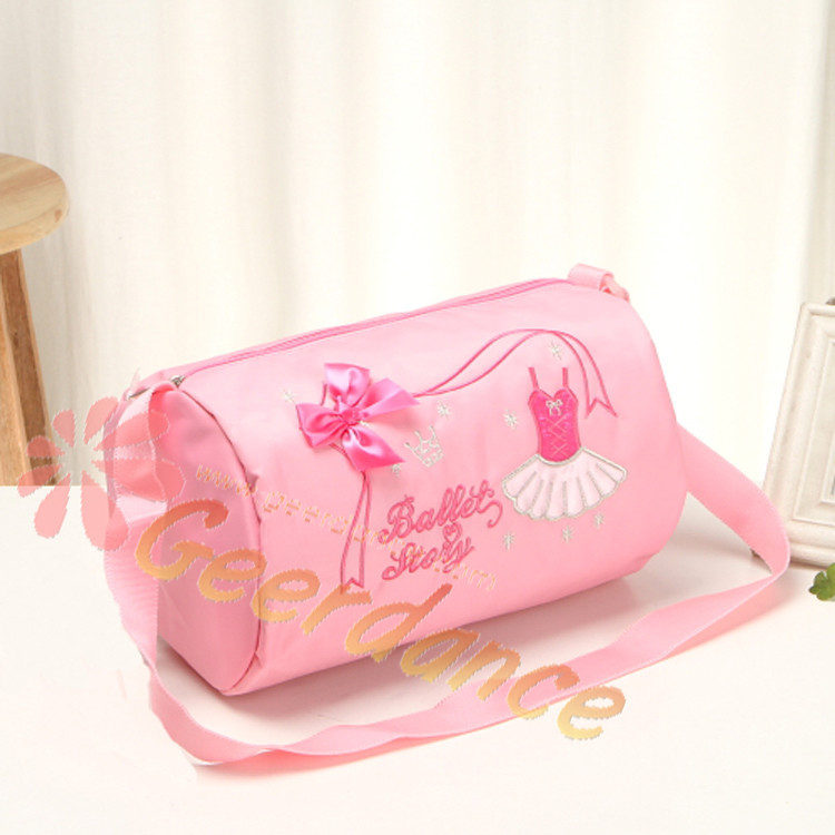 Get Quotations Free Shipping Water Proof Nylon Toddler Pink Ballet Bag Kids Cute Dance Cross
