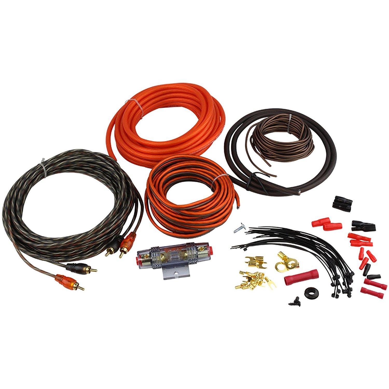 Buy Kit8 8 Gauge Car Amplifier Amp Power Wiring Installation Wire Amps Kit