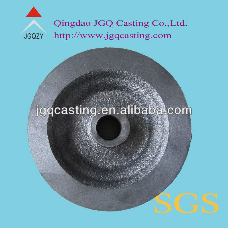 sand casting ductile iron cast iron electric chain hoist wheel part