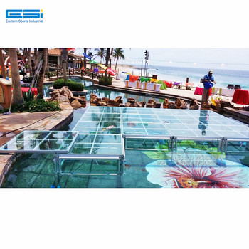 Cheap Price Transparent Plexiglass Glass Outdoor Portable Wedding Concert  Dance Floor Acrylic Stage Platform Swimming Pool - Buy Mobile Stage For ...