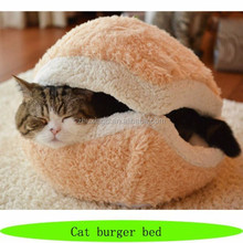 Cat burger bed, fashion cat heat bed, cute cat beds