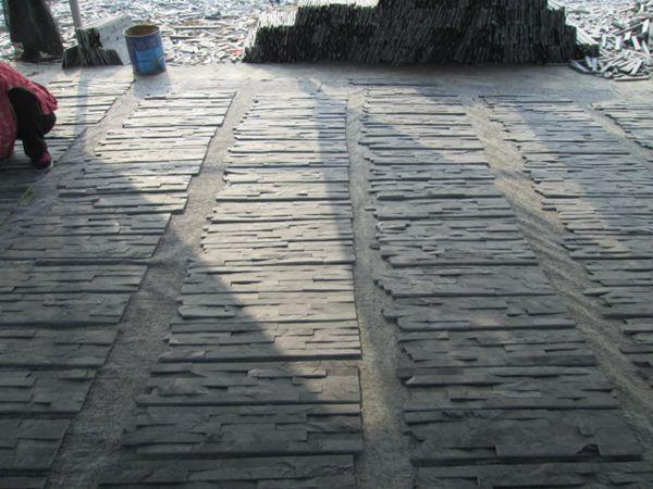 Cultura pietra ardesia grezza a buon mercato piastrelle per