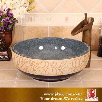 New Japanese style handmade porcelain bathroom sink bowl. New Japanese Style Handmade Porcelain Bathroom Sink Bowl   Buy