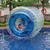 Different sizes water zorbing, aqua rolling ball, inflatable rides for water gamte