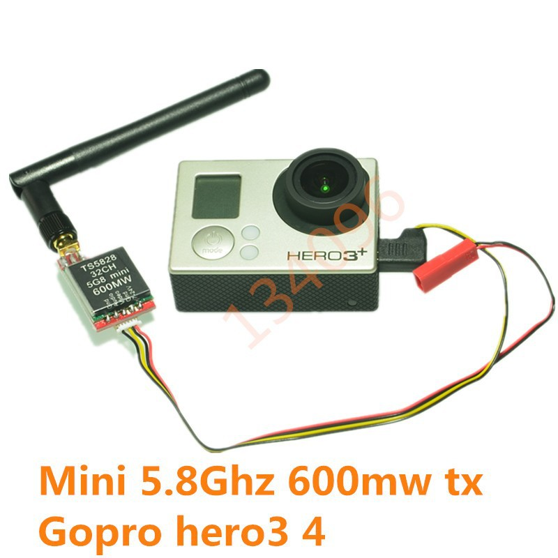 Fpv Gopro Hero 3 Set Perfect For Any Dji F550 F450 Or Phantom- RTF