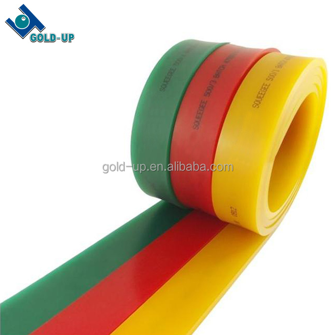 Factory supply polyurethaan zeefdruk zuigmond rubber