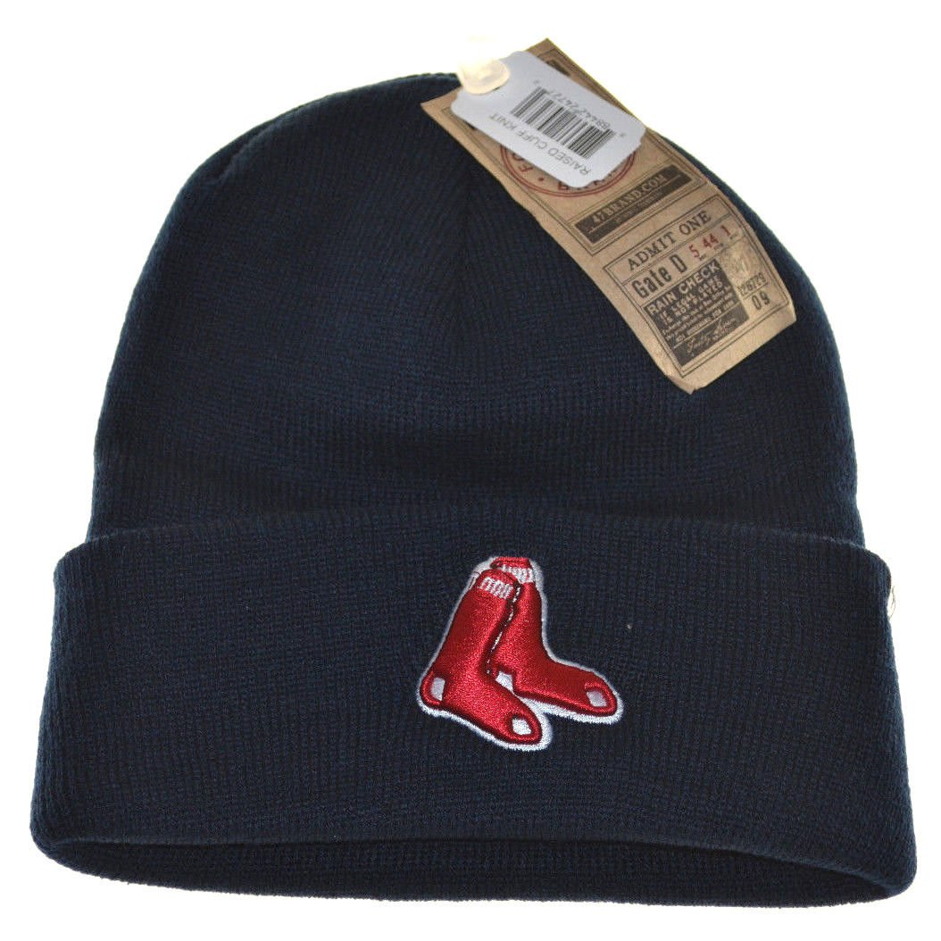 Buy MLB Boston Red Sox 47 Brand Cuff Knit Hat 9c302465e75b
