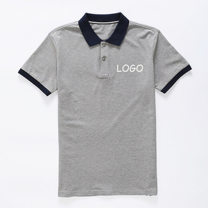 Top Quality Custom Screen Printing 100% Combed Pique Cotton Polo T Shirt