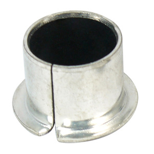 Self-lubricating SPB SOB SPF SOBF dry bush PTFE coated collar bushes